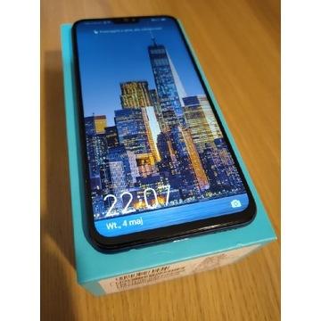 Honor 8X 6.5 cala idealny komplet niebieski 128GB