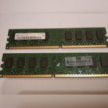 PAMIĘĆ RAM 2GB DDR2 2Rx8 PC2 6400U