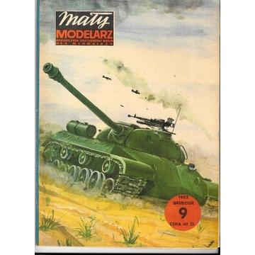Mały Modelarz 9 1982 IS-3 czołg ciężki model 1:25