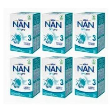 Nestle NanOptipro 3 mleko następne 6x800 g