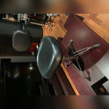 Stołek perkusyjny Yamaha z oparciem Profi