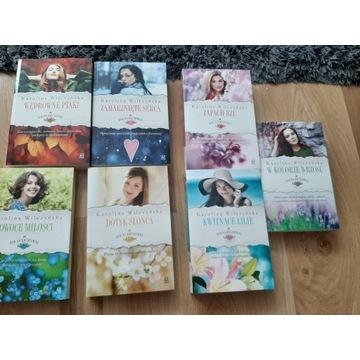 Seria Rok na Kwiatowej 7 części Karolina Wilczyńsk