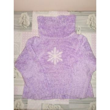 Sweterek dla dziewczynki St Bernard 104 cm 3-4lata