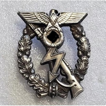 WW2 odznaka szturmowa piechoty 1939, prototyp