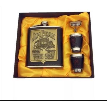 "Zestaw ""Jim Beam"" Kentucky Whiskey- prezent"
