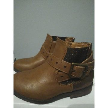 Buty dziecięce botki trzewiki