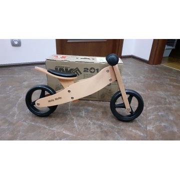Rowerek biegowy 2w1 drewniany Milly mally