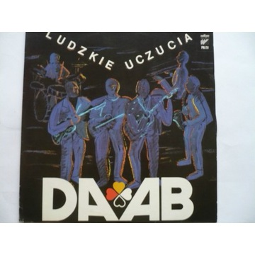 """Daab """"Ludzkie uczucia"""" płyta winylowa rok 1987"""