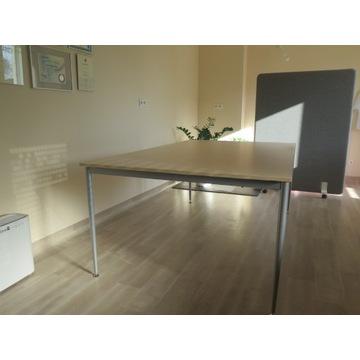 Stół konferencyjny 200 x 120 cm blat klon jasny