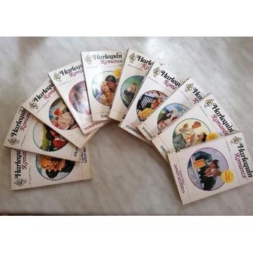 Niepowtarzalna kolekcja harlequin romance prl