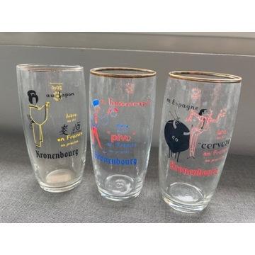 Zestaw 3 szklaneczek Kronenburg