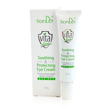 Łagodzący Krem Ochronny Pod Oczy Vita Derm 25 g