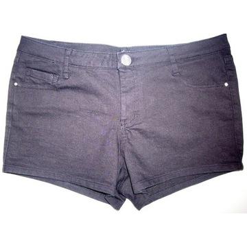 Spodenki jeansowe SINSAY czarne, rozm. S, NOWE