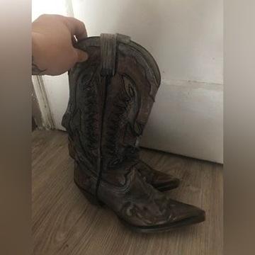 Damskie kowbojki Mezcalero ala Sendra Boots