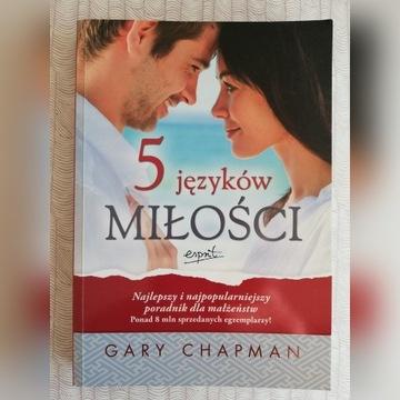5 JĘZYKÓW MIŁOŚCI, GARY CHAPMAN