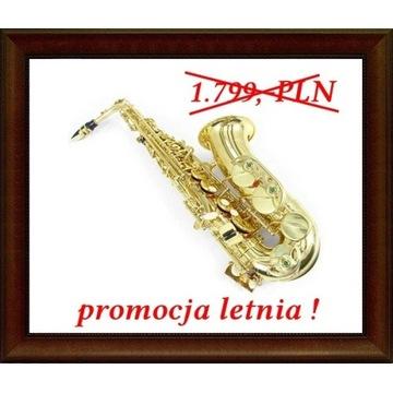 NOWY saksofon altowy niemiecki MPM złoty M004