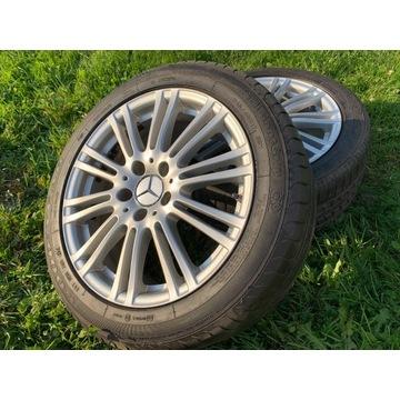 "Mercedes E212 Kpl. felg Aluminiowych 17"""