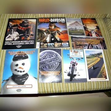 Harley Davidson katalog prospekt folder album