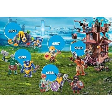 Zestaw Playmobil 9340, 6587, 6588, 6594 i 6593