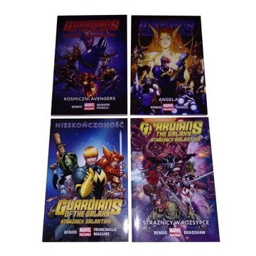 Egmont Marvel Now Guardians of the Galaxy tomy 1-4