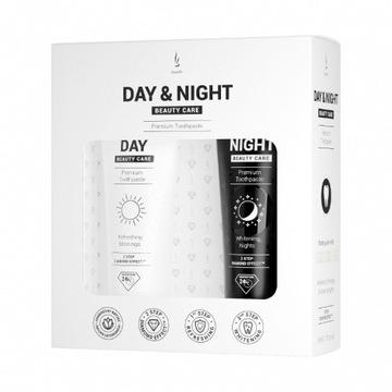 Zestaw past do zębów DuoLife Day & Night 2x50ml