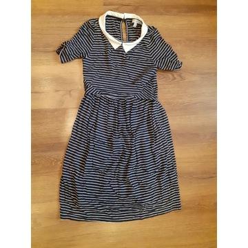 Elegancka sukienka do karmienia ciążowa envie S