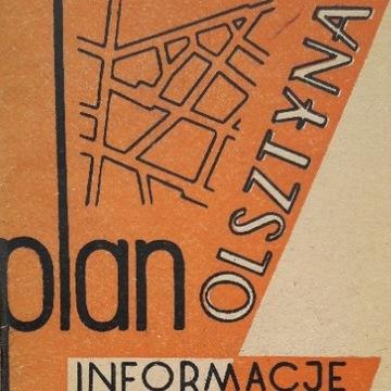PLAN OLSZTYNA 1957 - reklamy PRL - 29 stron, ideał