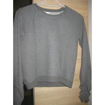 Bluza dresowa marszczone rękawy rozmiar 152 cm