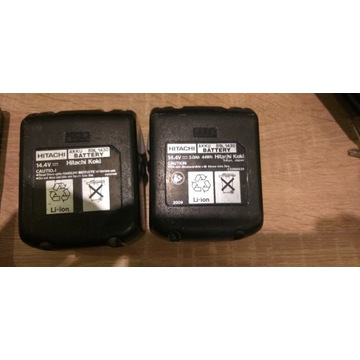 2x obudowa baterii Hitachi BSL1430