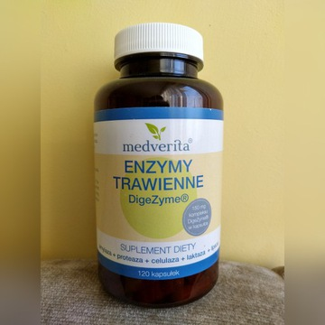 MEDVERITA ENZYMY TRAWIENNE + Betaina HCL