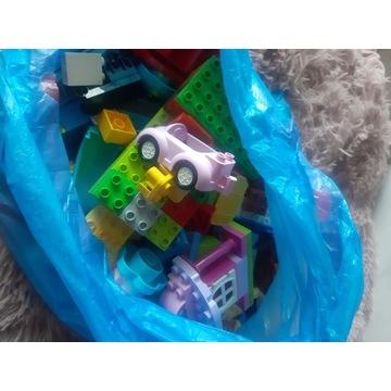 Lego Duplo na wage na kg zestawy licytuj 2,5 kg