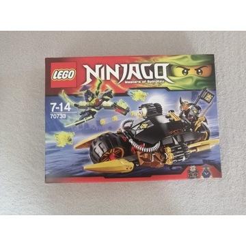 Klocki Lego Nijago 70733 + Lego Chima 70123 gratis