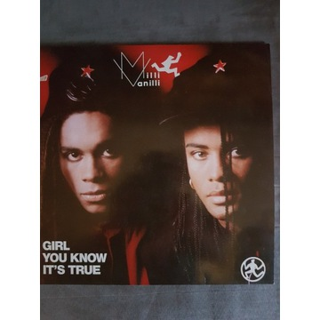 Milli Vanilli-Girl You Know it's  True maxi 12