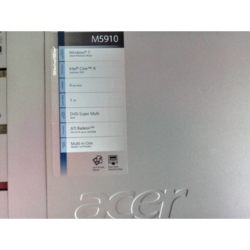 Acer komputer stacjonarny PACZ