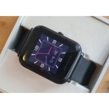 smartwatch AMAZFIT BIP A1608 czarny + szary gratis