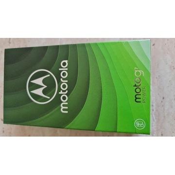 Motorola G7 POWER 64Gb Black Stan idealny