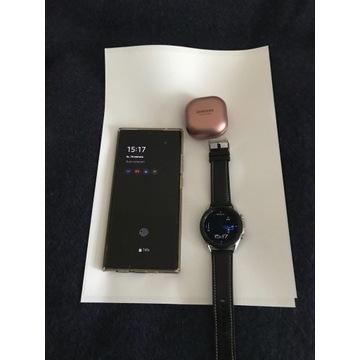 Komplet Note20Ultra+Galaxy Watch3+Galaxy Buds Live