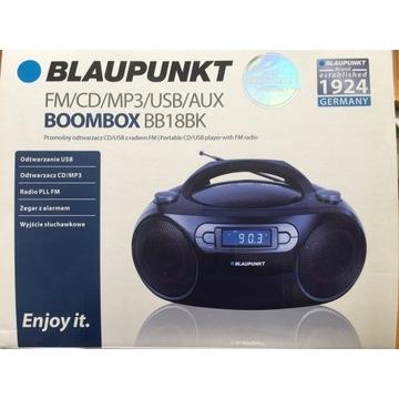 Radio Boombox Blaupunkt BB18BK FM CD MP3 USB AUX