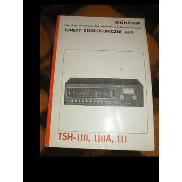 INSTRUKCJA  SERWISOWA TUNERA  TSH-110,110A,111