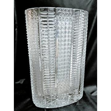 Stary solidny wazon kryształ ? prl