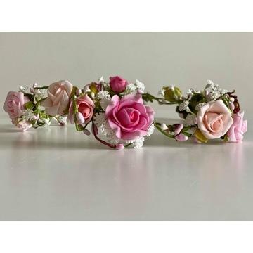 Wianek ślubny panienka z rosy | ręcznie robiony