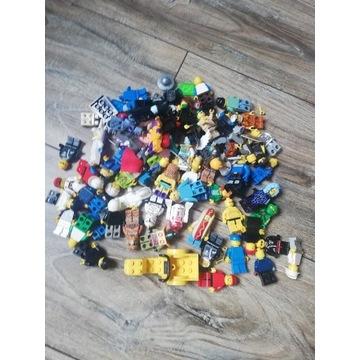 Mega zestaw lego 70 ludzików+30 instrukcji od 1zł