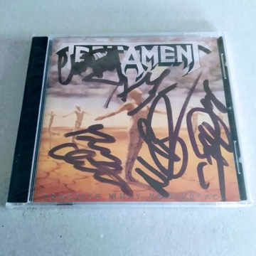 """Testament - """"Practice What You Preach"""" CD"""