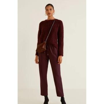 MANGO MNG spodnie joggery elastyczna talia M nowe