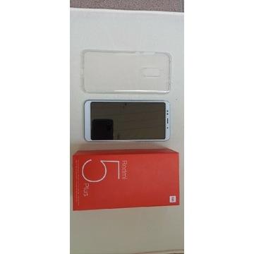 Xiaomi Redmi 5 plus,stan idealny. Błękitny
