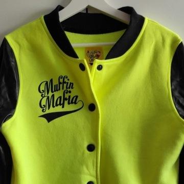 Bluza baseballówka Muffin Mafia r. XL