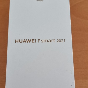 Huawei Psmart 2021BLACK NOWY 4 GB + 128 GB