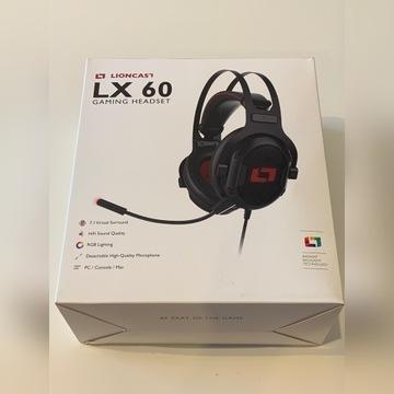 Słuchawki gaming Lioncast LX60