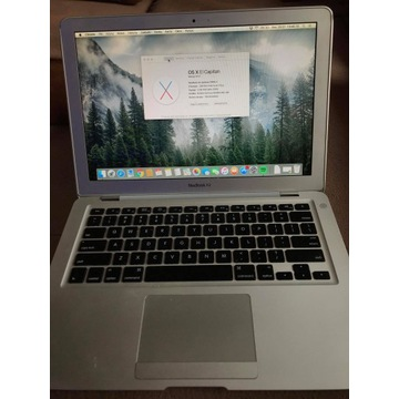 Apple Macbook Air 1,86 GHz Intel Core2 Duo SPRAWNY