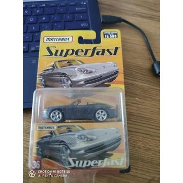 Porsche boxster superfast matchbox limited edition